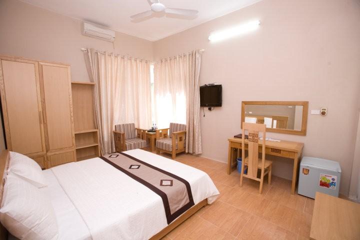 phòng ngủ của khách sạn king